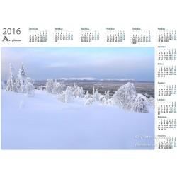 Talvinen näkymä...