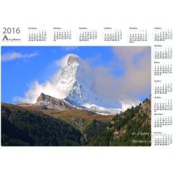 Matterhorn - Year Calendar