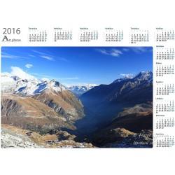 Mountain valley - Year Calendar
