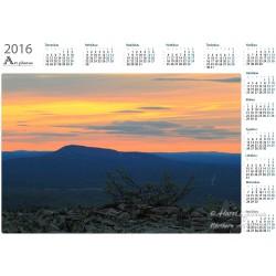 Luosto at night - Year Calendar