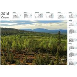 Outitunturi view - Year Calendar