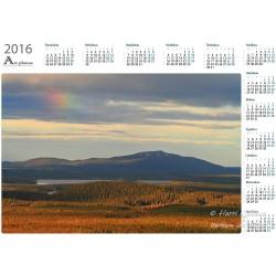 Nuorunen and rainbow II - Year Calendar