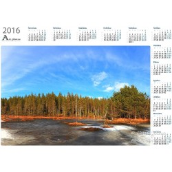 Spring day at svamp - Year Calendar