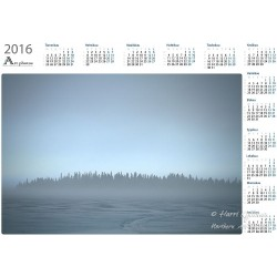 Lost coast - Year Calendar