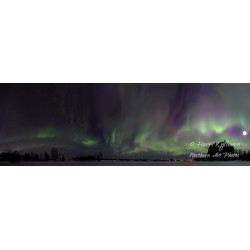 Aurora storm - HD - Canvas...
