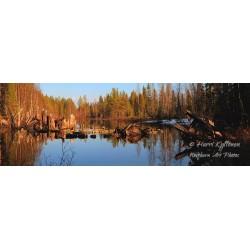 Sillan rauniot - HD - Canvas-taulu