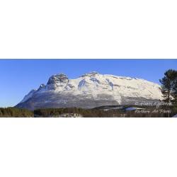 Hattefjellet - HD - Canvas print