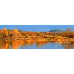 Jokiruska panoraama III - Canvas-taulu