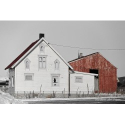 Old house - Canvas print
