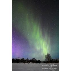 Aurora stream - Canvas print