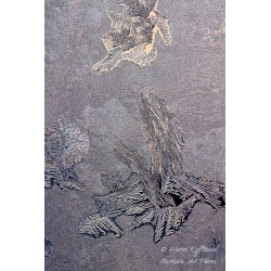 Kiehtova jäämuodostelma - Canvas-taulu