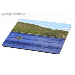 Windy lake - Mousepad /...