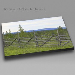 Old Wood Fence - Chromaluxe...