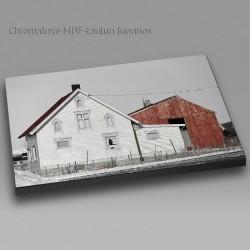 Vanha talo - Chromaluxe taulu