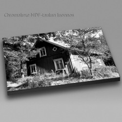 Old house II bw - Chromaluxe picture