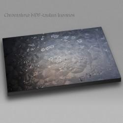 Jääkukat ikkunassa - Chromaluxe taulu