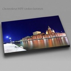 Kanavaranta and Uspenski Cathedral - Chromaluxe picture