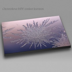 Leviävä jää - Chromaluxe taulu