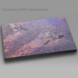 Auringonlasku jäämuodostelman takana - Chromaluxe taulu