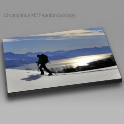 Mountain skier - Chromaluxe picture