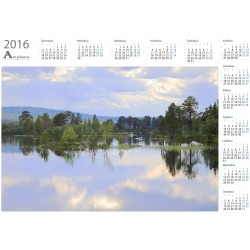 Islet plants - Year Calendar