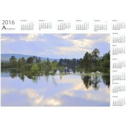Islet plants - Year Calendar
