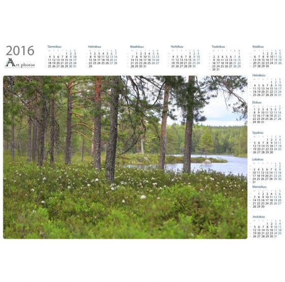 Marsh teas - Year Calendar