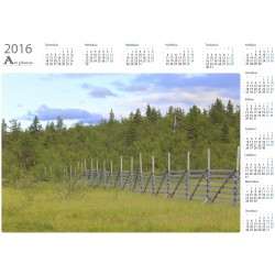 Old Snow Fence - Year Calendar