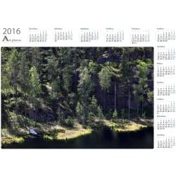 Secret boat - Year Calendar