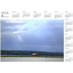 Auringonsäteet Suvannossa - Vuosikalenteri