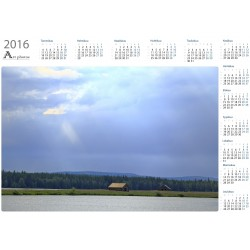 Sunrays on Suvanto - Year Calendar