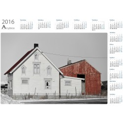 Old house - Year Calendar