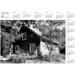 Old house II bw - Year Calendar