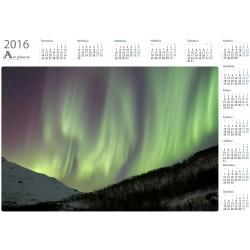 Revontuliverho Gratangenissa - Vuosikalenteri