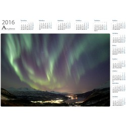 Aurora streams - Year Calendar