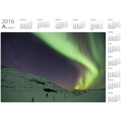 Mesmerized - Year Calendar