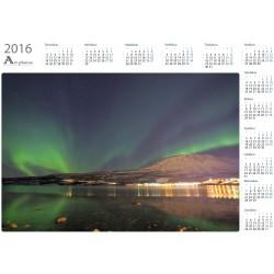 Revontulet Bjerkvikissä - Vuosikalenteri