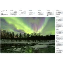 Revontulet joealla - Vuosikalenteri