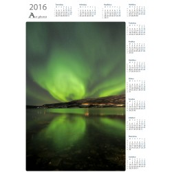 Reflected - Year Calendar