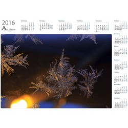 Ice and lamp - Year Calendar