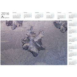 Ice flower - Year Calendar