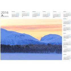Bankletten morning view - Year Calendar
