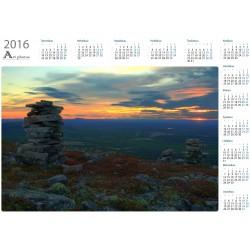 Monuments - Year Calendar