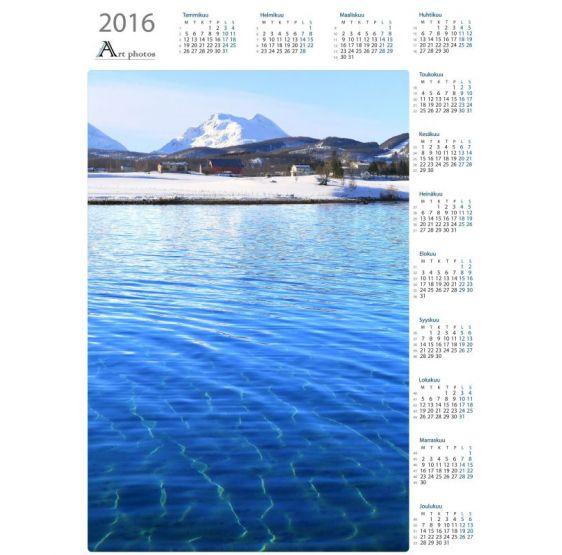 Vastakohdat - Vuosikalenteri