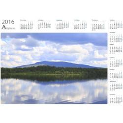 Ounastunturi - Year Calendar