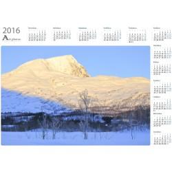 Kunnioita majesteettia - Vuosikalenteri