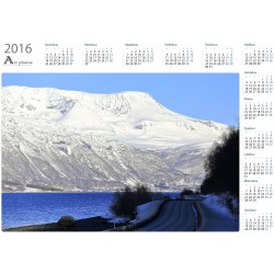Shadow road - Year Calendar