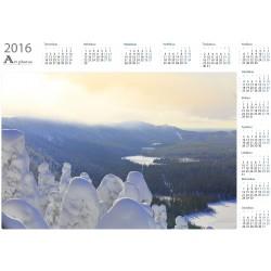 Näkymä Konttaiselta - Vuosikalenteri