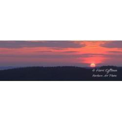 Kammiovuoren näkymä auringon laskiessa - Tapetti