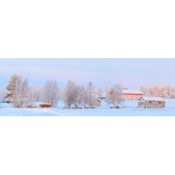 Countryside at winter - HD - Wallpaper